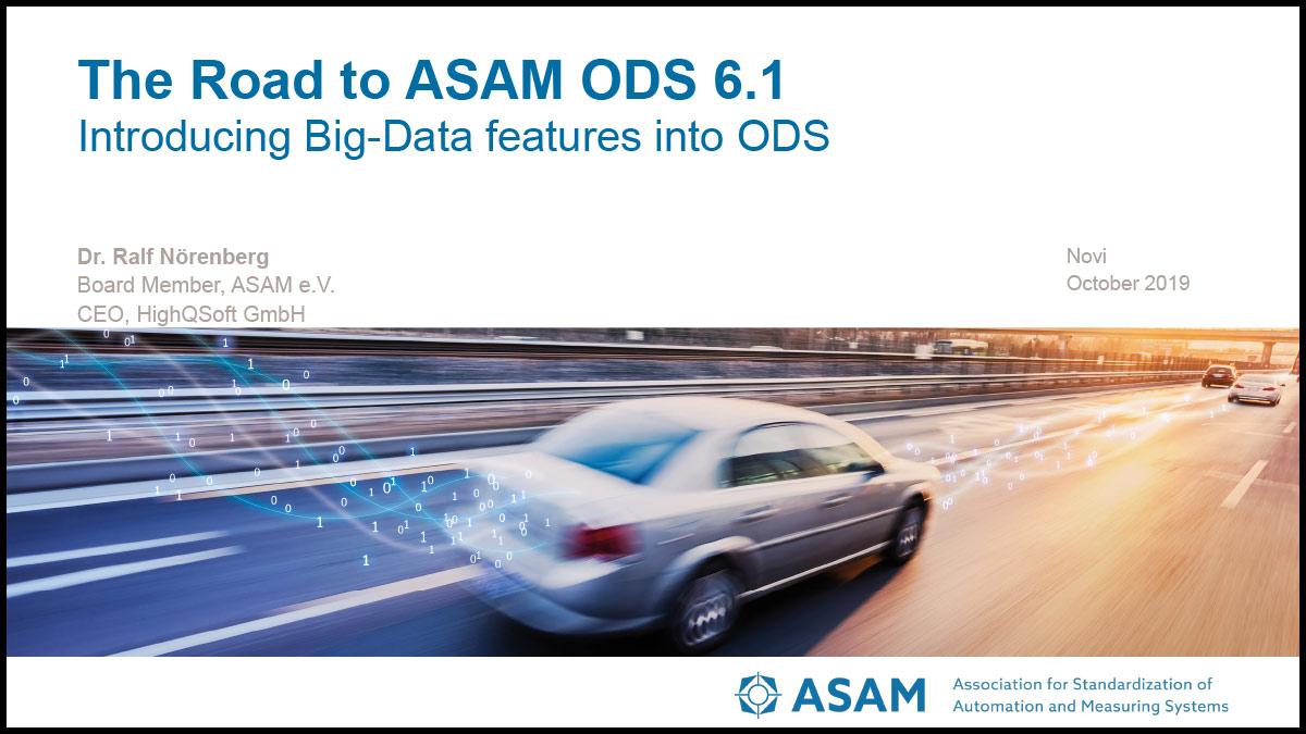 ASAM ODS PDF